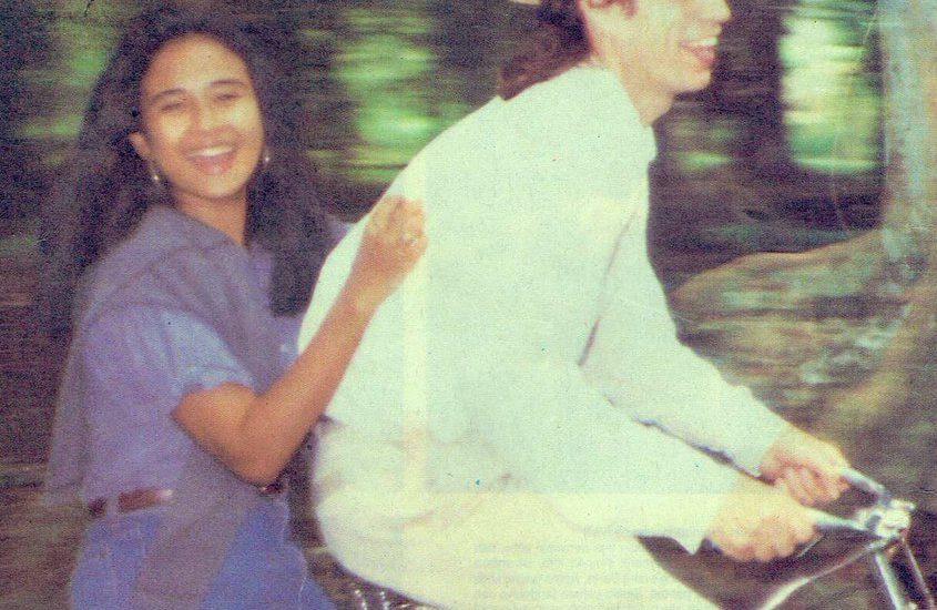 Ria Irawan dan Mick Jagger